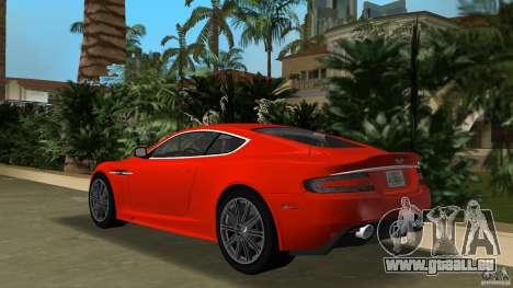 Aston Martin DBS V12 für GTA Vice City zurück linke Ansicht