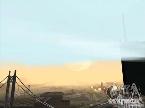 Un réaliste Timecyc pour GTA San Andreas troisième écran