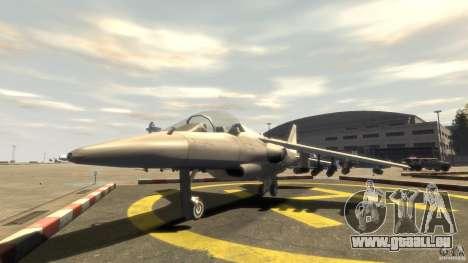 Liberty City Air Force Jet (avec équipement) pour GTA 4