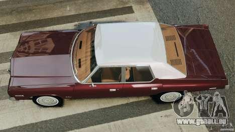 Dodge Monaco 1974 v1.0 pour GTA 4 est un droit