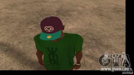 Casquette avec le logo du groupe HIM pour GTA San Andreas deuxième écran
