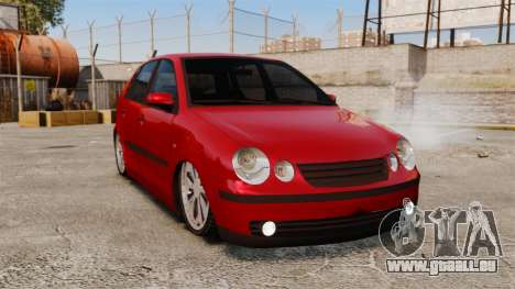Volkswagen Polo Edit pour GTA 4