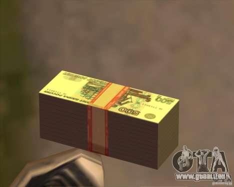 500 roubles pour GTA San Andreas