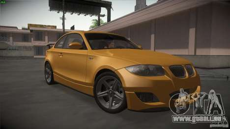 BMW 135i Coupe Road Edition pour GTA San Andreas vue arrière