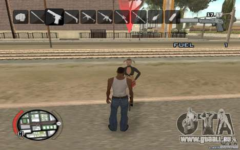 Hide Victim für GTA San Andreas