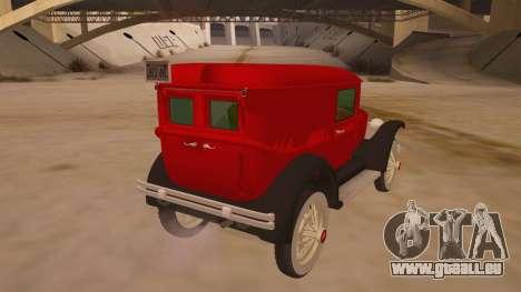 Pearce 1931 pour GTA San Andreas vue de droite