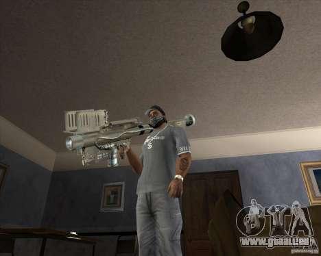 Jarra Mono Arsenal v1.2 für GTA San Andreas zweiten Screenshot