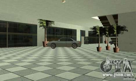 Mercedes Showroom v.1.0 (BFMTV) pour GTA San Andreas sixième écran