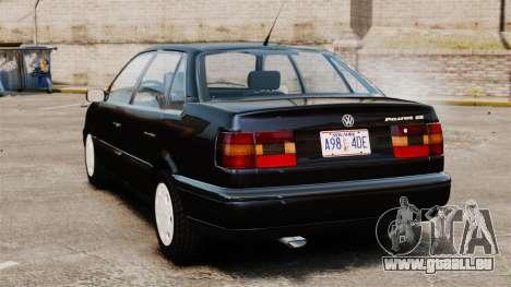 Volkswagen Passat B4 für GTA 4 hinten links Ansicht