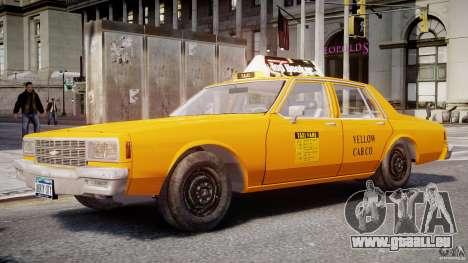 Chevrolet Impala Taxi 1983 pour GTA 4