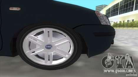 Fiat Panda 2004 pour GTA Vice City vue arrière