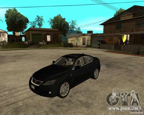 Lexus IS-F v2.0 pour GTA San Andreas
