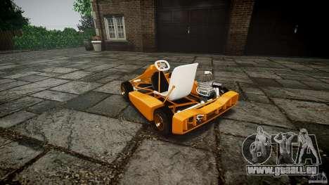 Karting für GTA 4 Innenansicht