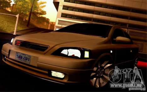 Opel Astra G 2.0 1.6V für GTA San Andreas Rückansicht