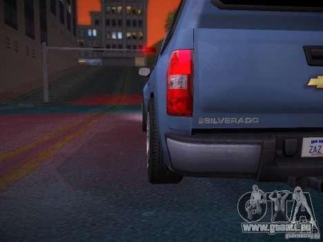 Chevrolet Silverado pour GTA San Andreas salon