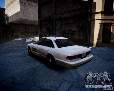 Russian NOOSE Cruiser für GTA 4 hinten links Ansicht