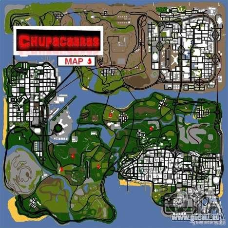 Chupacabra pour GTA San Andreas troisième écran