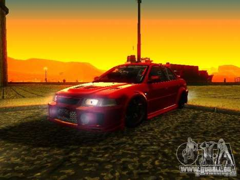 Mitsubishi Lancer Evolution VI GSR 1999 pour GTA San Andreas