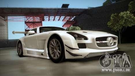 Mercedes-Benz SLS AMG GT3 für GTA San Andreas linke Ansicht