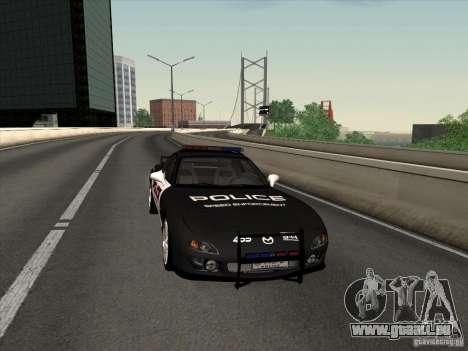 Mazda RX-7 FD3S Police für GTA San Andreas