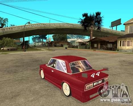 Seigneur de VAZ 2106 pour GTA San Andreas laissé vue