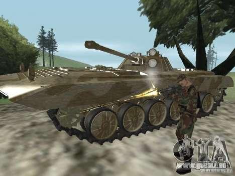 BMP-2 du CGS pour GTA San Andreas vue arrière