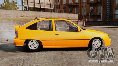 Opel Kadett GL 1.8 1996 pour GTA 4 est une gauche