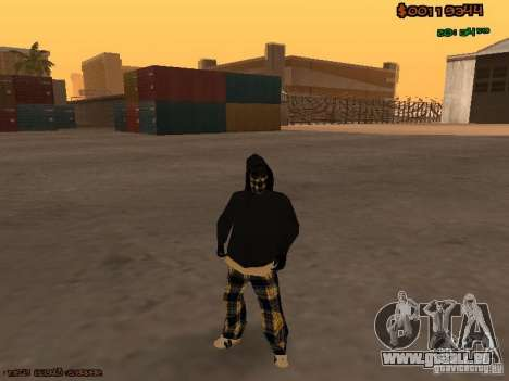 Vagos Skins pour GTA San Andreas deuxième écran