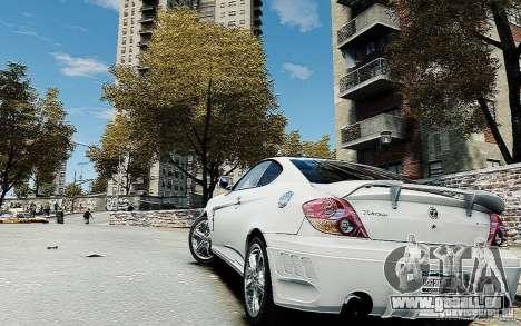 Hyundai Tuscani pour GTA 4 est une gauche