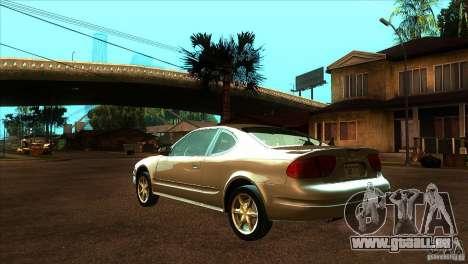 Oldsmobile Alero 2003 für GTA San Andreas zurück linke Ansicht