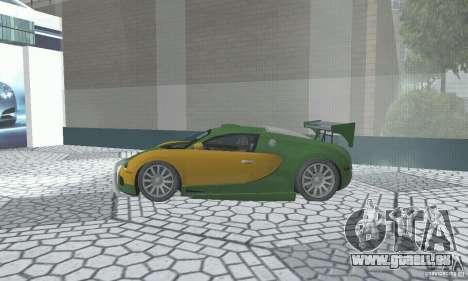 Bugatti Veyron 2005 pour GTA San Andreas vue de droite
