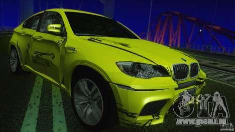 BMW X6M E71 v2 für GTA San Andreas Seitenansicht