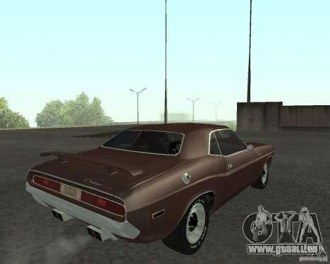 Dodge Challenger für GTA San Andreas linke Ansicht