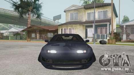 Nissan 300zx pour GTA San Andreas laissé vue