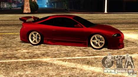 Mitsubishi Eclipse 1998 pour GTA San Andreas laissé vue