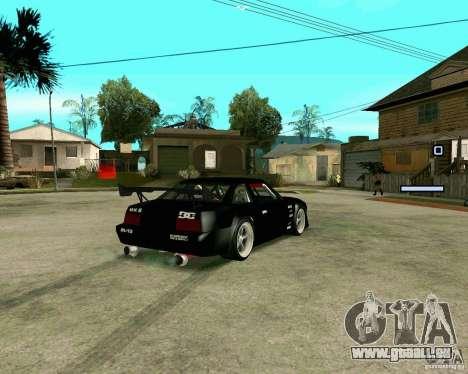 Hotring Racer Tuned pour GTA San Andreas sur la vue arrière gauche