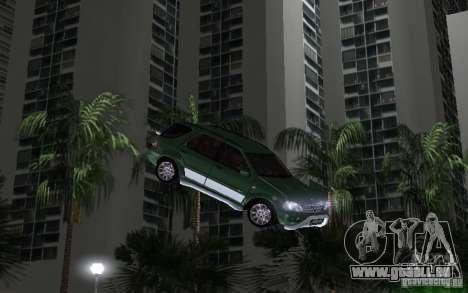 Mercedes-Benz ML55 Demec pour une vue GTA Vice City de la gauche