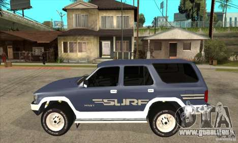 Toyota Surf v1.0 für GTA San Andreas linke Ansicht