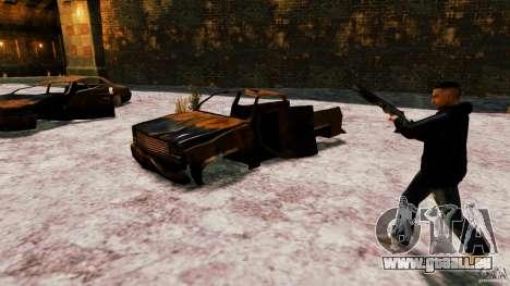 Marshall de Crysis 2 pour GTA 4 cinquième écran
