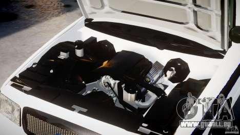 Ford Crown Victoria 2003 FBI Police V2.0 [ELS] für GTA 4 Seitenansicht