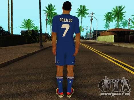 Cristiano Ronaldo v2 pour GTA San Andreas quatrième écran