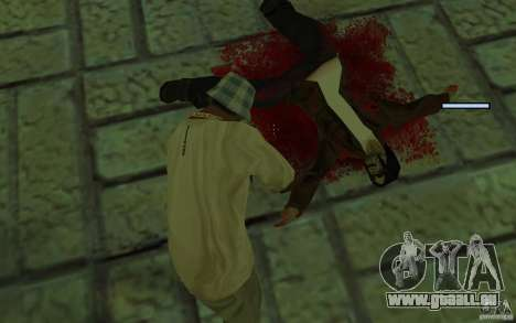 Mutant pour GTA San Andreas cinquième écran
