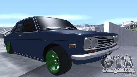 Datsun 510 Drift pour GTA San Andreas vue arrière