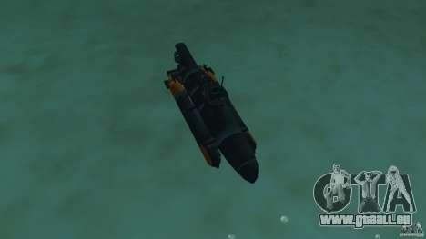 Seehund Midget Submarine skin 2 pour une vue GTA Vice City de l'intérieur