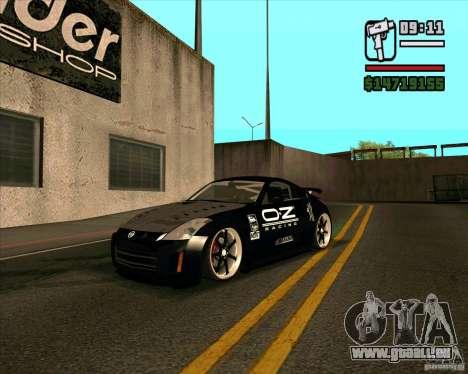 Nissan 350Z Pro Street pour GTA San Andreas
