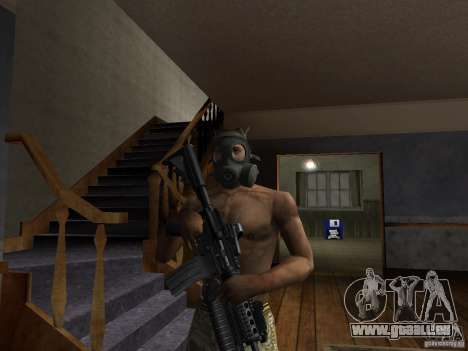 Chapeaux de Call of Duty 4: Modern Warfare pour GTA San Andreas troisième écran