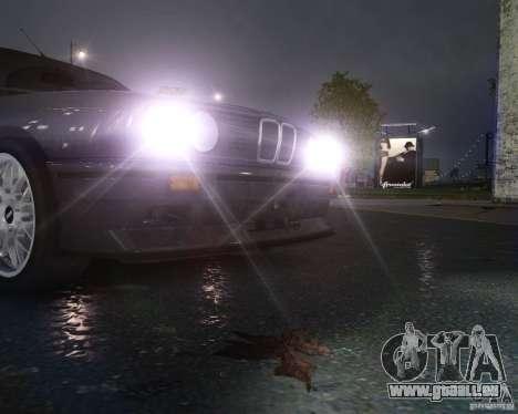 BMW M3 E30 pour GTA 4 est une vue de dessous