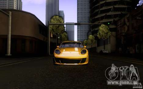 Ruf RK Coupe V1.0 2006 für GTA San Andreas obere Ansicht