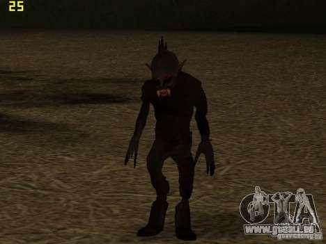 Chupacabra pour GTA San Andreas quatrième écran