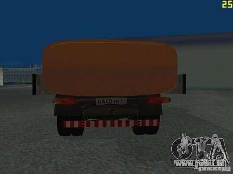 Ko-829 sur beta ZIL-130-châssis de camion pour GTA San Andreas vue de droite
